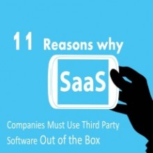 11 Reasons Why SaaS Companies Must Use Third Party Software Out of the Box
