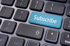 subscribe concepts with message on keyboard